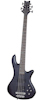 Schecter Stiletto Studio-8 See-Thru Black Satin