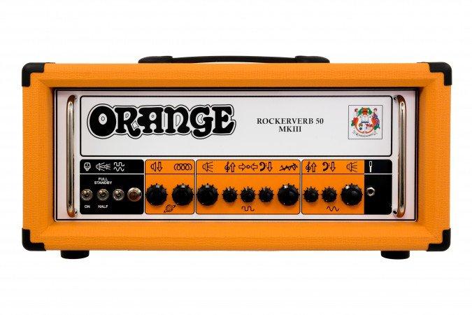 Orange Rockerverb 50 MKIII Head Orange