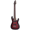 Schecter Damien Elite-8 Crimson Red Burst