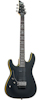 Schecter Demon-6 Floyd Rose Satin Black LEFT