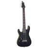 Schecter Demon-7 Satin Black LEFT