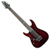Schecter Hellraiser C-7 Floyd Rose Black Cherry LEFT