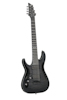 Hellraiser Hybrid C-7 Trans Black Burst LEFT