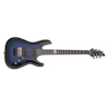 Schecter Blackjack SLS C-1 Floyd Rose A See-Thru Blue Burst