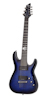 Schecter Blackjack SLS C-7 P See-Thru Blue Burst