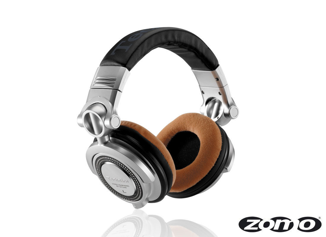 Zomo Earpads for RP-DH1200/HDJ-2000 Velour Wood