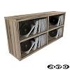 Zomo CS-Box 100/2 Zebrano