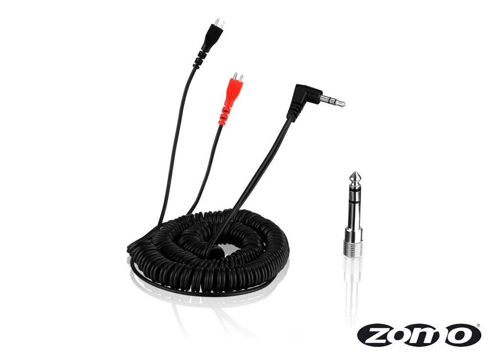 Zomo Cable HD 25 spiral/black 3,5 m (40180-CB35)