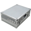 Flightcase PC-200/2 f. 2 x CDJ-200 Silver