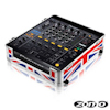 Zomo Flightcase CDJ-13 UK flag