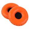Headphone Earpad Set PVC S orange