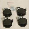 Auralex ProGO-26 Obsidian wheels