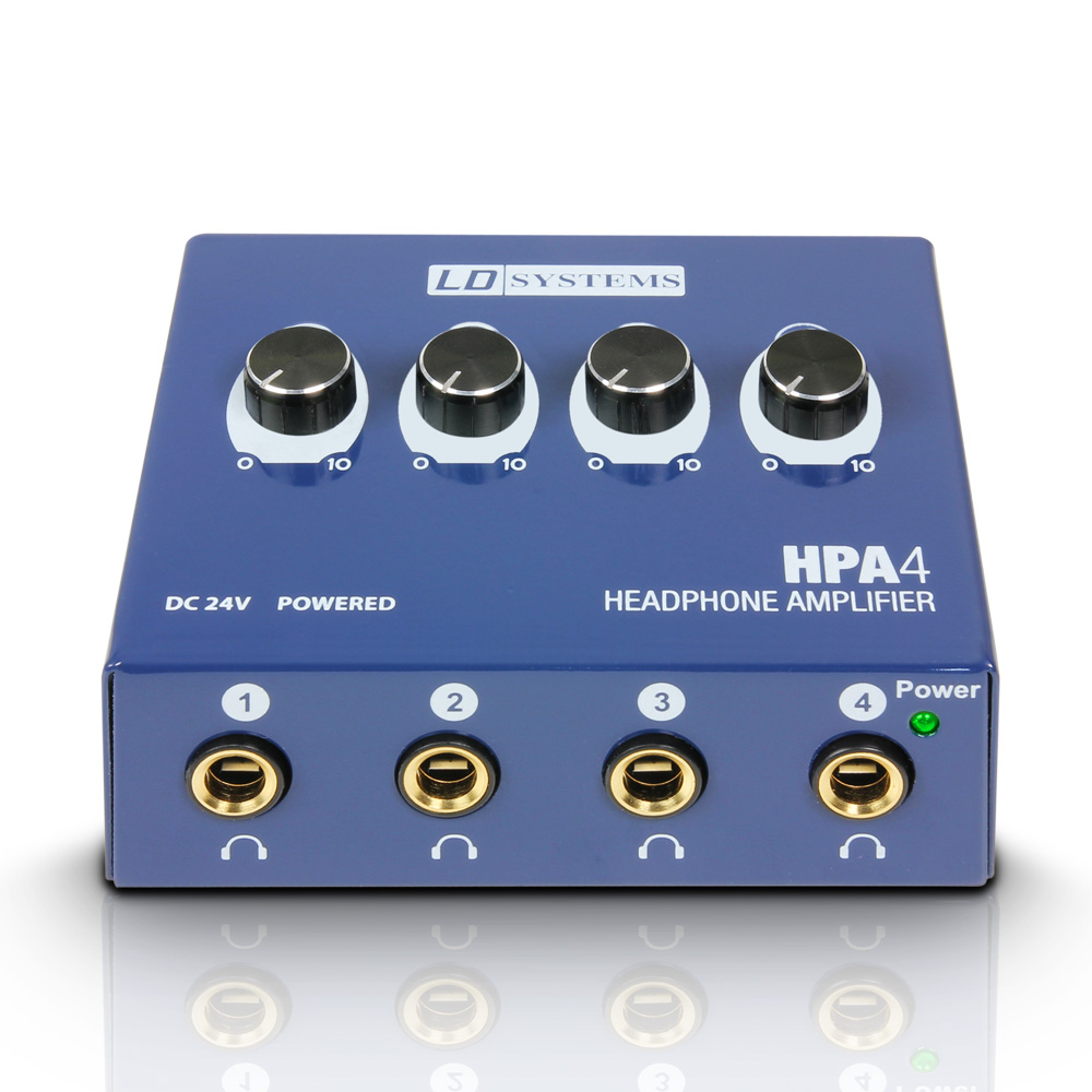 LD Systems HPA4 Headphone Amplifier