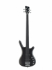 Rockbass Corvette Basic 4 act OFC Black Fretless