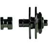 Warwick Security Straplocks 1 Set Black