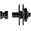 Warwick Security Straplocks 1 Set Black