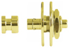 Warwick Security Straplocks 1 Set  Gold