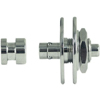 Warwick Security Straplocks 1 Set Chrome
