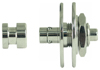 Warwick Security Lock 1 Set  Nickel