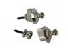 S-Type Security Locks 1 Set Nickel