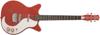 59 O Double Cutaway Guitar Alligator Red