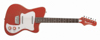 67 Heaven Guitar Alligator Red