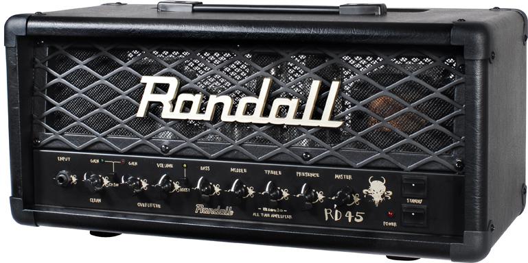 Randall Diavlo RD45H 45w Amp Head