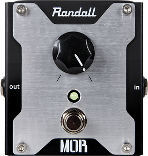 Randall One knob Descrete Boost Pedal