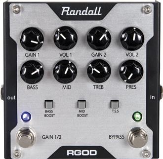 Randall RG Preamp Mini Pedal