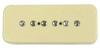 Seymour Duncan SP90-3n Custom P90 Soapbar Crm LLT