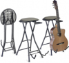 Stagg Foldable Stool w/guitarstand