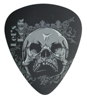 Rock Demon Mousepad RMP-10 Pick Grey Skull