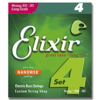 Elixir 14102 Electric Bass Nickel Plated Steel NANOWEB 050-105