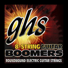 GHS GBTNT-8 - BOOMERS 8-STRING Thin-Thick