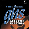 GHS WB-TL WHITE BRONZE 012-050