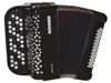 Hohner Nova I 49 F - C-stepped - Black