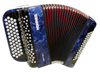 Hohner Nova II 60 A C-stepped - Dark Blue