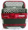 Hohner Nova II 60 A C-stepped - Red