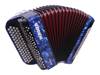 Hohner Nova II 80 A C-stepped - Dark Blue
