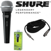 Shure SV100-A Dyn cardioid, On/off, XLR-1/4