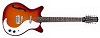 12-string Guitar F-hole Cherry Sunburst