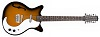 12-string Guitar F-hole Tobacco Sunburst