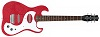 Danelectro 63 Guitar Red Metal Flake