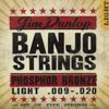 DJP0920 Banjo Strings .009-.020, 5 Strings/Set