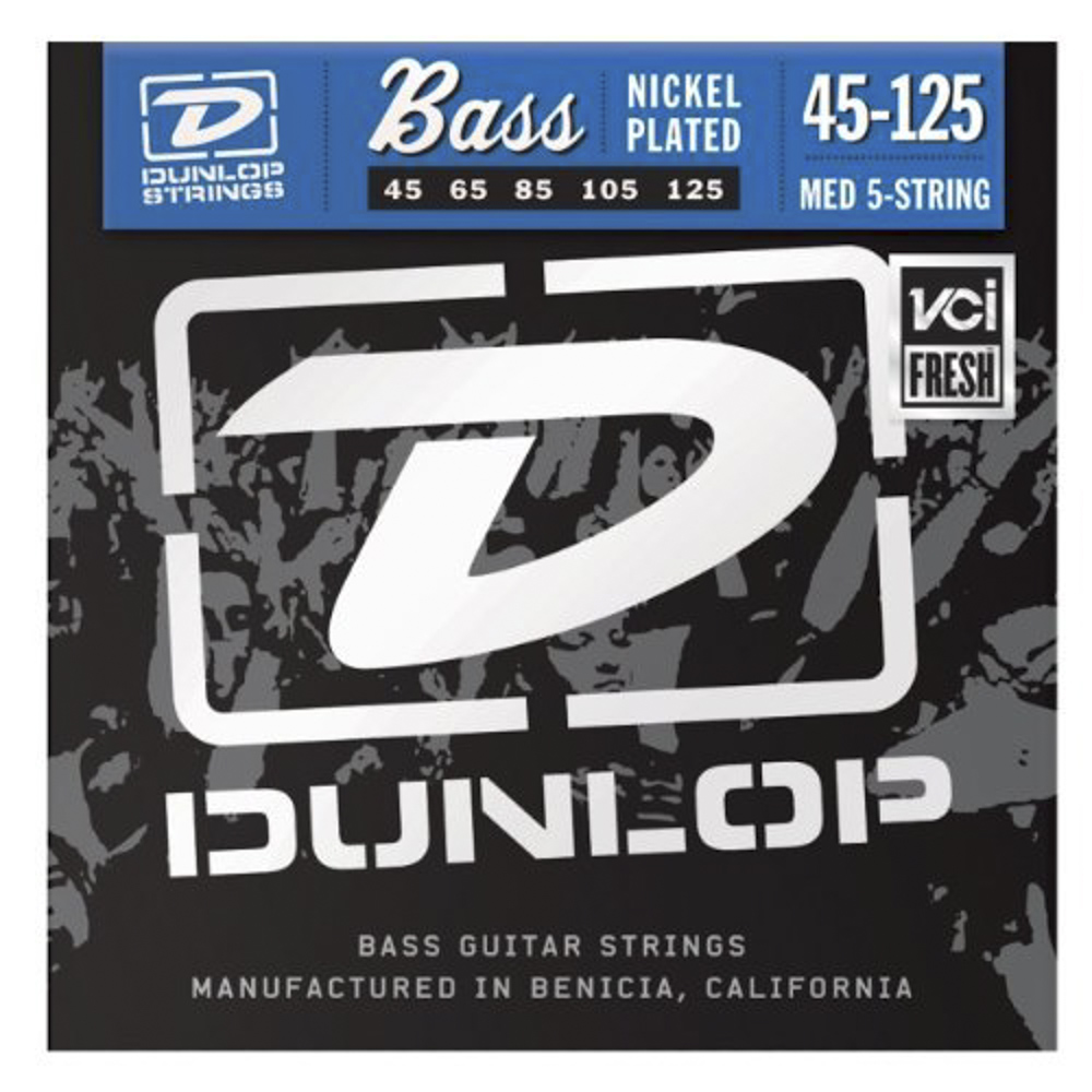 Dunlop Nickel 2PDBN45125 2-pack