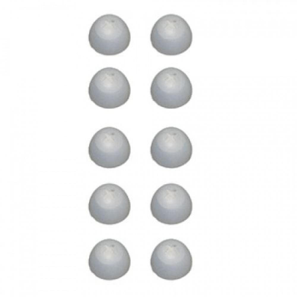 Sennheiser Ear pads clear silicone, 5 pairs