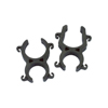 Pair Of 19/25Rd - 19/25Sq Stereo Clips