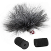 Rycote Grey Ristretto Lavalier Windjamme - single