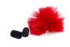 Rycote Red Lavalier Windjammer - single