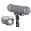 Rycote Modular Windshield 2 Kit With Black Windjammer 2
